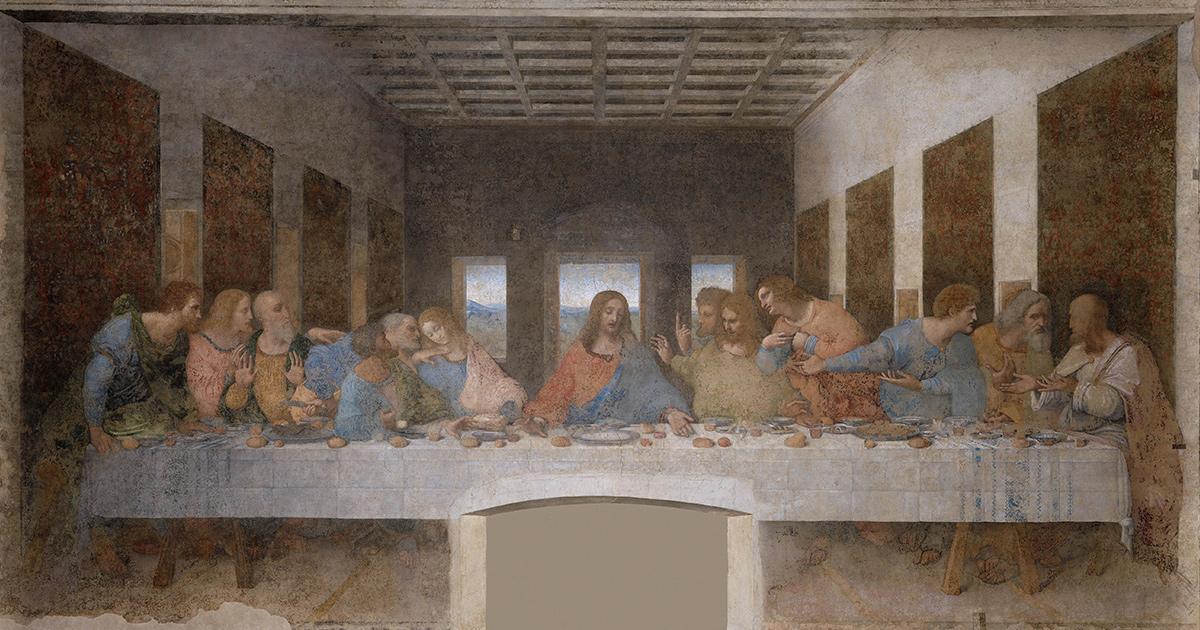Het Laatste Avondmaal van Leonardo da Vinci
