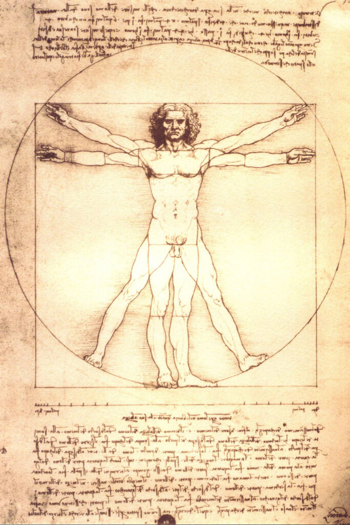 Vitruvian Man (Leonardo Da Vinci)
