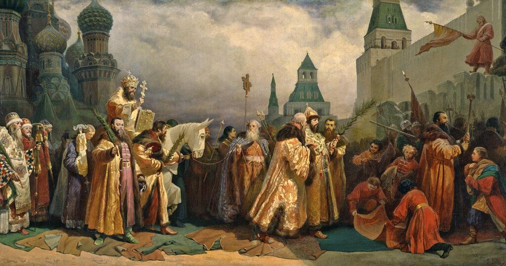 Schilderij Wjatscheslaw Grigorjewitsch Schwarz