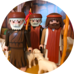 Herders in de stal