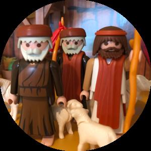 Kerst: de herders in de stal