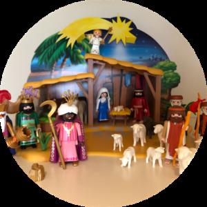 Kerststal Jezus Maria Jozef Herders Wijzen Ster Engel