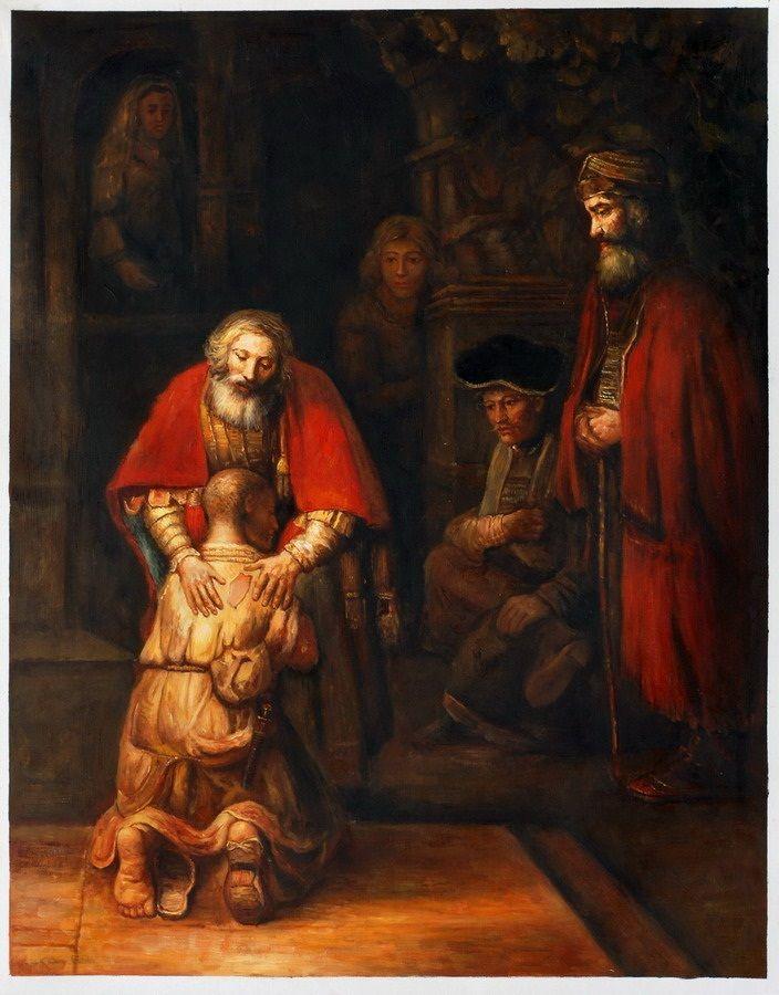 De Verloren Zoon - Rembrandt
