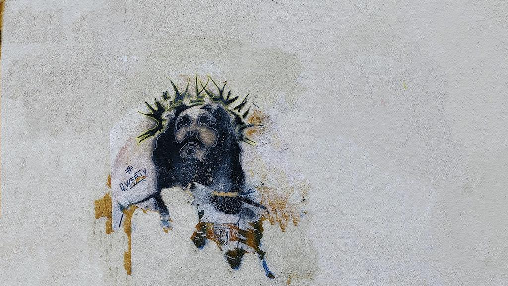 Jezus kunstwerk