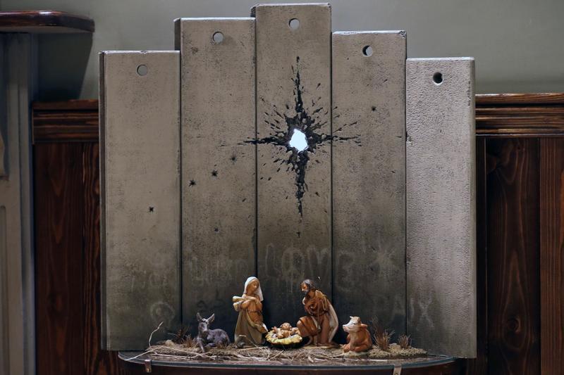 The scar of Bethlehem - Banksy